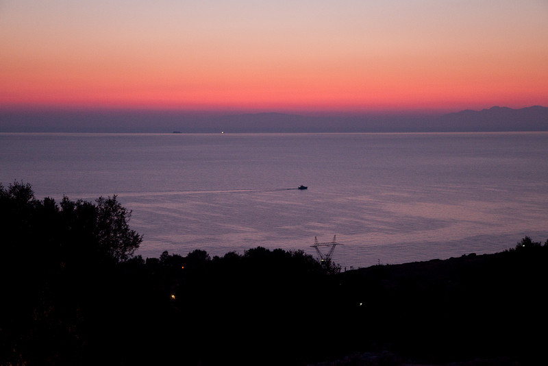 Zaharoula dawn, Greece