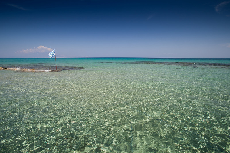 'Gin' clear water at Alikanas.