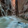 Wall Street - The Narrows, Zion National Park, Utah