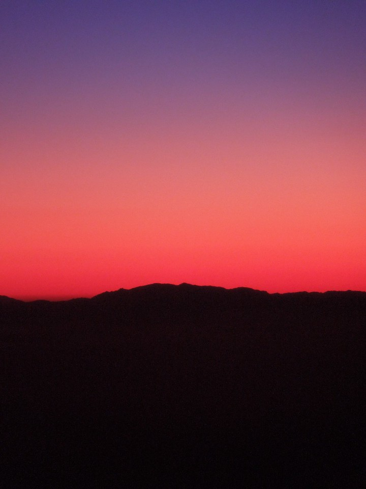 Sunrise over Iraq