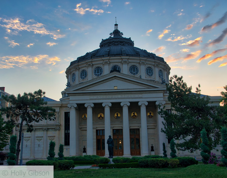 Romanian Athenaeum - Bucharest Romania
