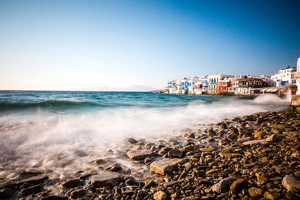 Ocean Motion - Little Venice, Mykonos, Greece : Part 2