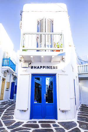 #Happiness - Mykonos, Greece