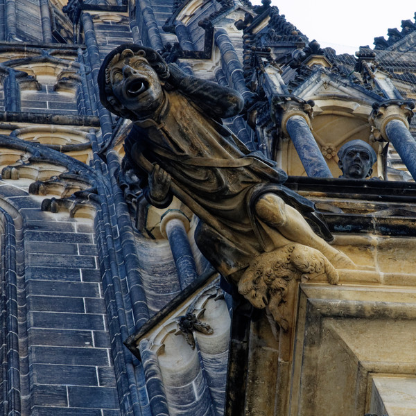 David on the Cathedral at Prague