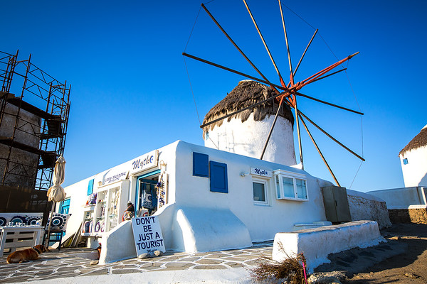 Don't Be Just A Tourist - Mykonos, Greece