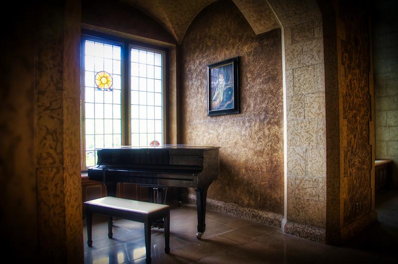 Piano at Fairmont Hotel - Banff