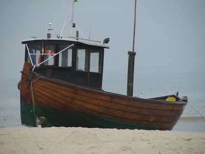 vintage fishing boat