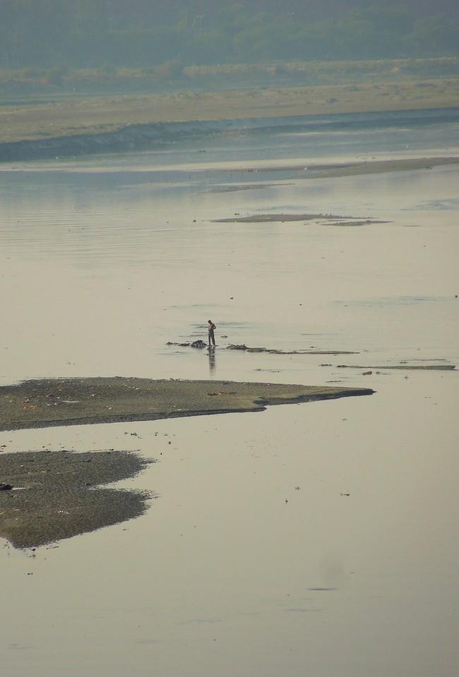 Yamuna River Scene