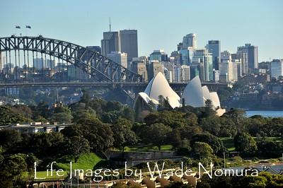Sydney from Hotel Room