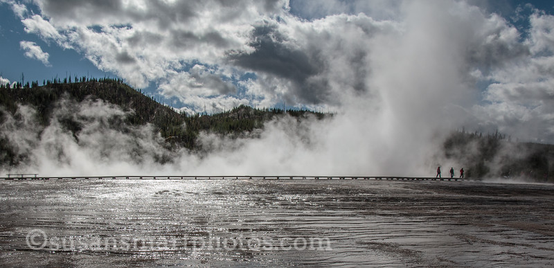 Boardwalk at Grand Prismatic Spring
