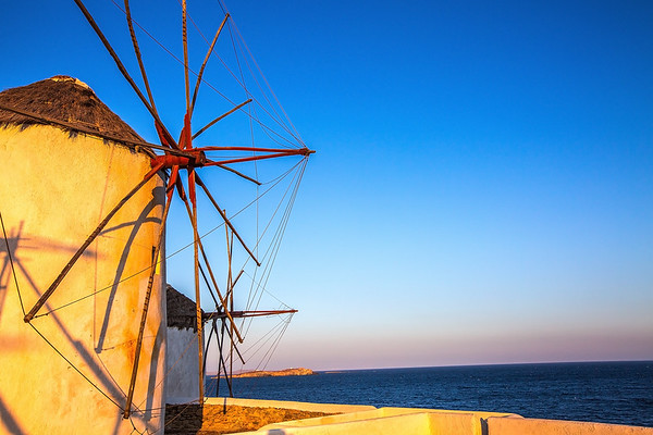 Mykonos Sunrise Windmills