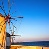 Mykonos Sunrise Windmills