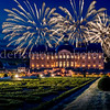 Fireworks on the Vaux le Vicomte castle
