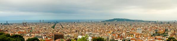 Panoramic Barcelona