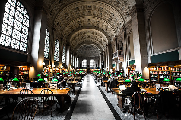 Boston Public Library - Shhhhhh!