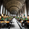 Boston Public Library - Shhhhhh!