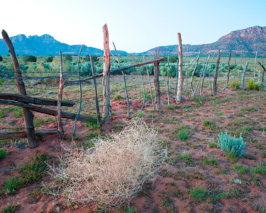 Fence in Fredonia Arizona