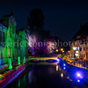 "Lights on the ""Petite Venise"" district at Colmar."