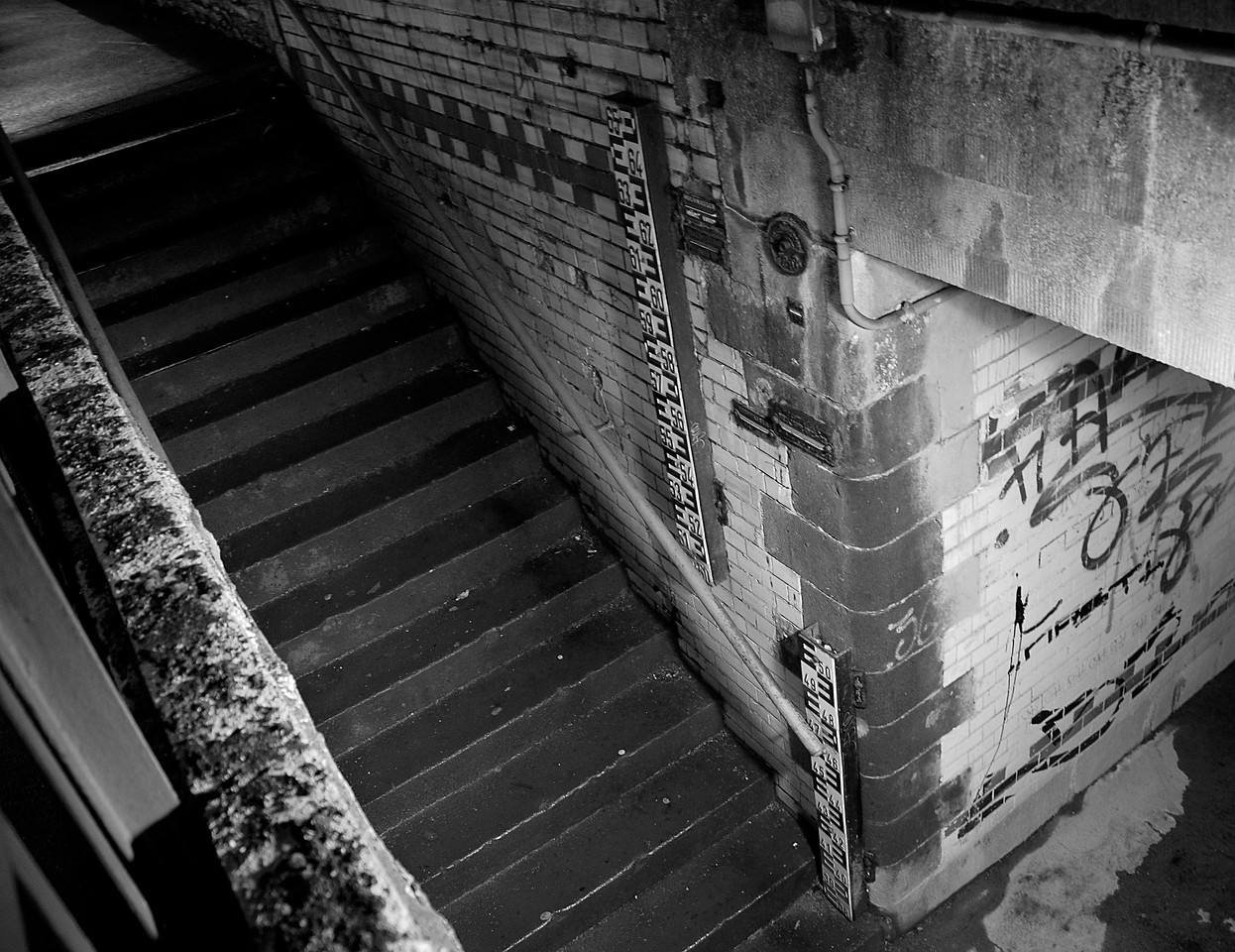 Flooding Stairs