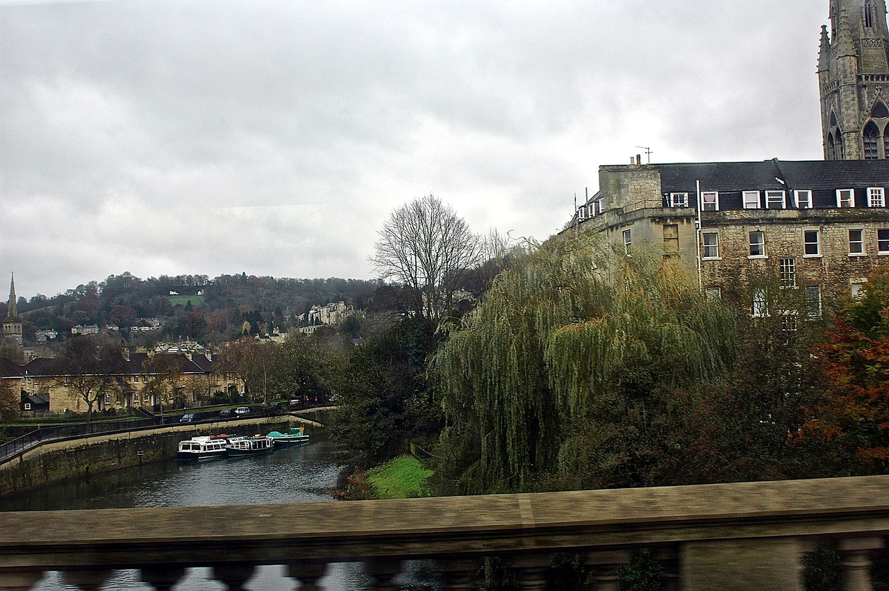Bath from the bridge