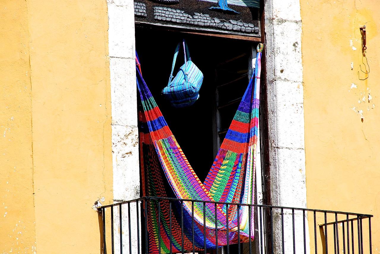 Hammock  in the Window