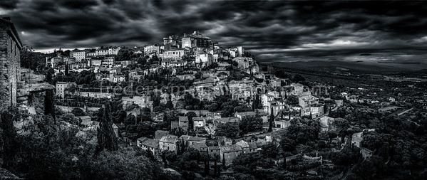 Gordes city in  the Luberon district.