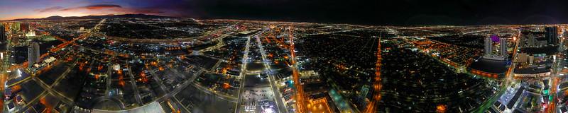 Las Vegas Panoramic from Stratosphere