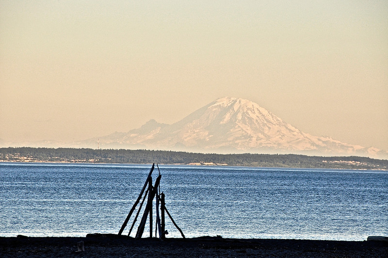 Mt. Renier from Whidbey Island