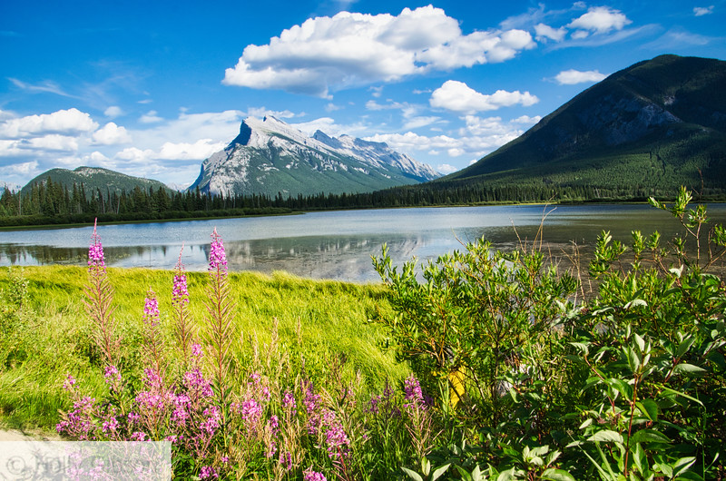 Vermillion Lakes - Mt. Rundel