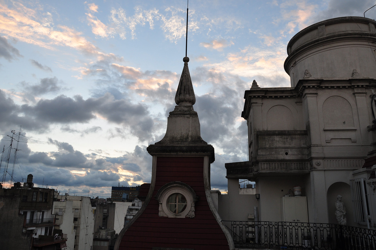 A Gloomy Afternoon in Buenos Aires