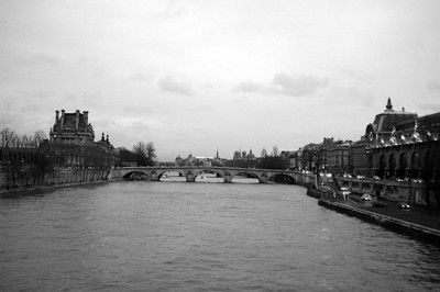 The Black and White Seine