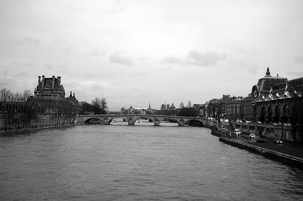 The Black and White Seine