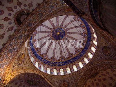 Inside Blue Mosque 2 Istanbul Turkey