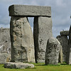 Closeup of Stonehenge