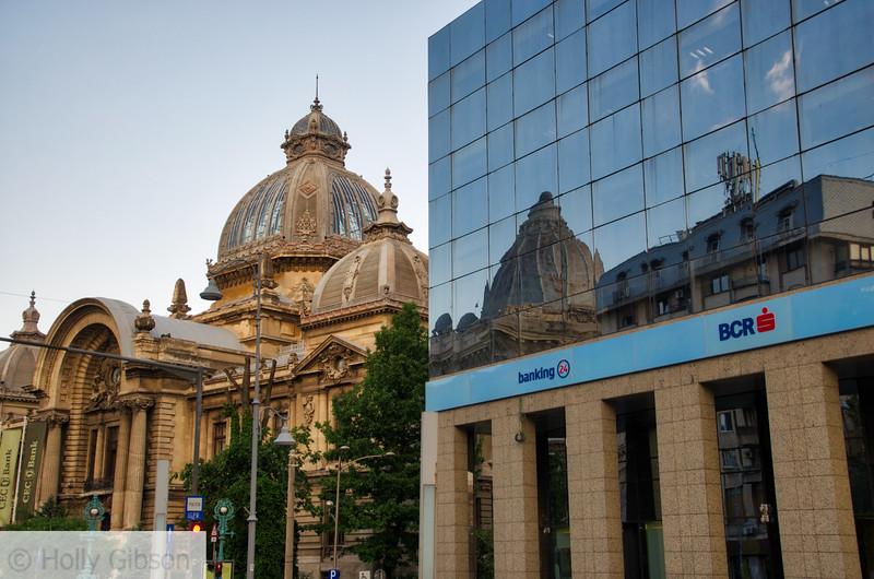 Bank on Calea Victoriei - Bucharest Romania