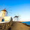 Mykonos, Greece Historic Windmills