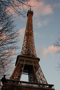 Eiffel Tower at Dawn