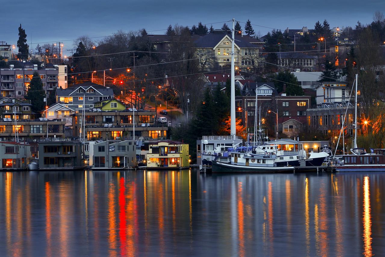 Lake Union Houseboats