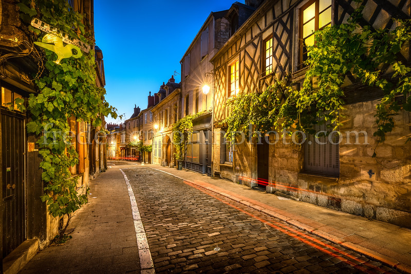 Old district of Bourges