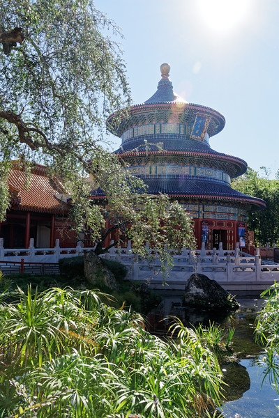 China Pavilion at Disney Epcot