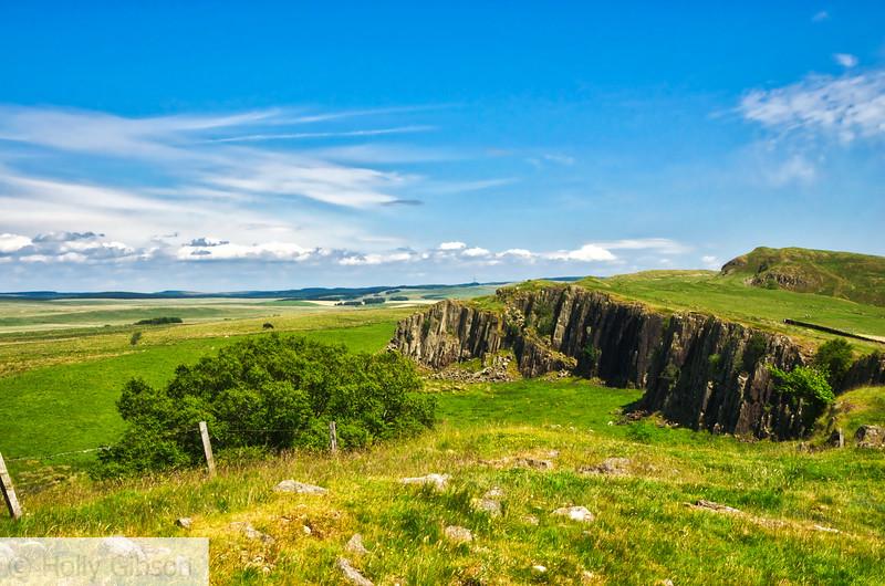 Walltown Crags Hadrian's Wall