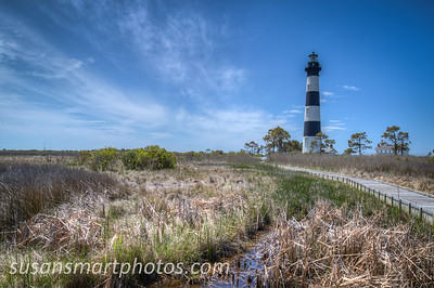 Bodie Island Lighthouse.  Taken from the observation platform.