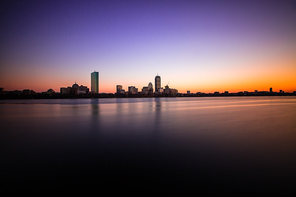 Crisp Winter Sunset - Boston