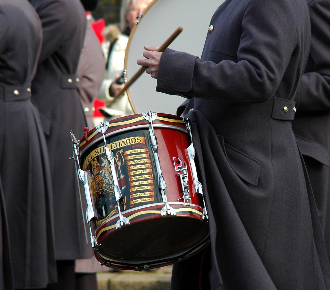 Drummer guard