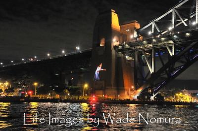 Sydney Bridge Vivid