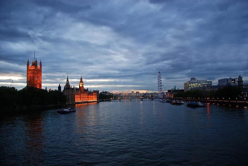 River Thames at dawn