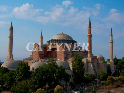 Haggia Sophia Istanbul Turkey