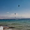 Kite surfers - Red Sea