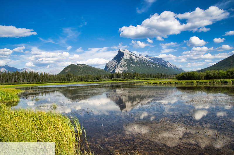 Vermillion Lakes/Mt. Rundel