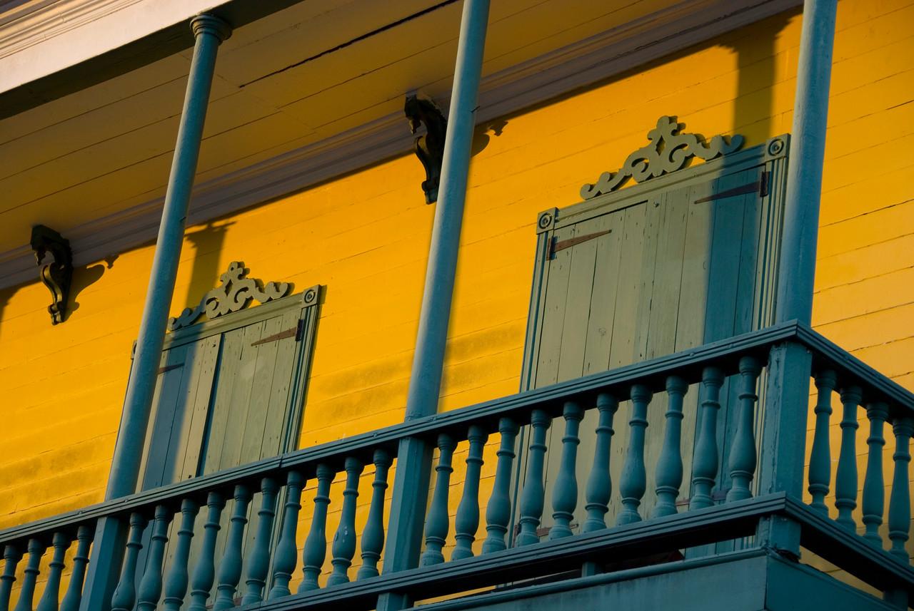 Balcony in Blue